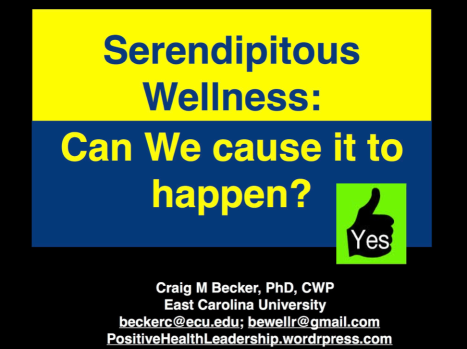 Yes to Serendipitous Wellness