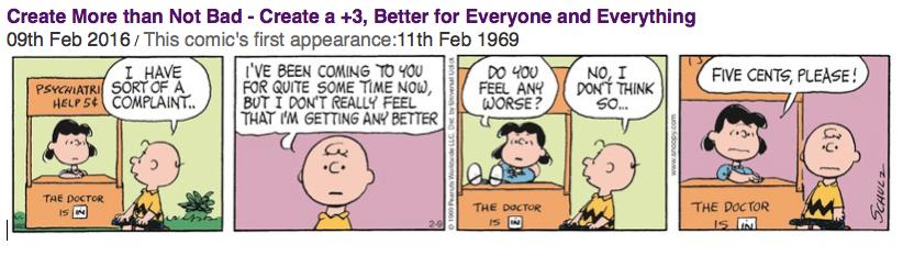 Peanuts - Be > Not Bad